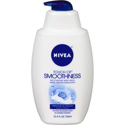 NIVEA Touch of Smoothness Moisturizing Body Wash