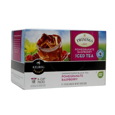 Twinings® Pomegranate & Raspberry Iced Tea K-cups
