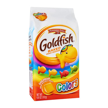 Goldfish® Colors Cheddar Baked Snack Crackers