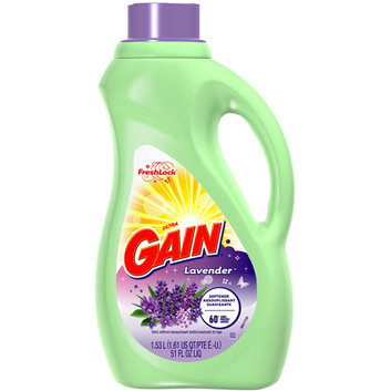 Gain With FreshLock Lavender Liquid Fabric Softener 60 Loads 51 Fl Oz