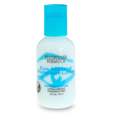 Lotion eye makeup remover