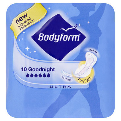 Bodyform Ultra Fit Goodnight 10pk