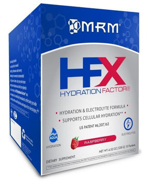 Mrm Metabolic Response Modifiers HFX Hydration Factor -Raspberry MRM (Metabolic Response Modifiers) 15 packet Box