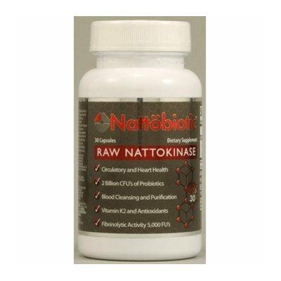 Arthur Andrew Medical Nattobiotic Raw Nattokinase 30 Capsules