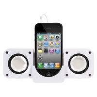 DreamGear i.Sound 5-in-1 Travel Sound - White (ISOUND-1615)