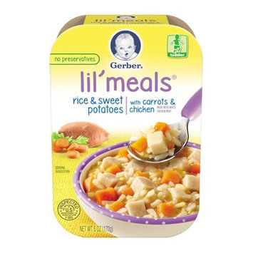 Gerber® Lil' Meals® Rice & Sweet Potatoes With Carrots & Chicken
