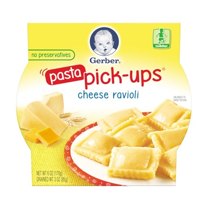 Gerber® Pasta Pick-ups® Cheese Ravioli
