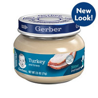 Gerber® 2nd Foods® Turkey And Gravy