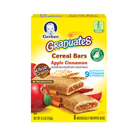 Gerber® Graduates® Cereal Bars Apple Cinnamon