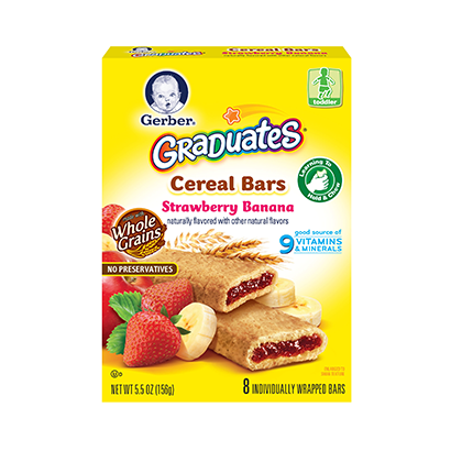 Gerber® Graduates® Cereal Bars Strawberry Banana