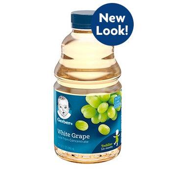 Gerber® 100% Juice White Grape