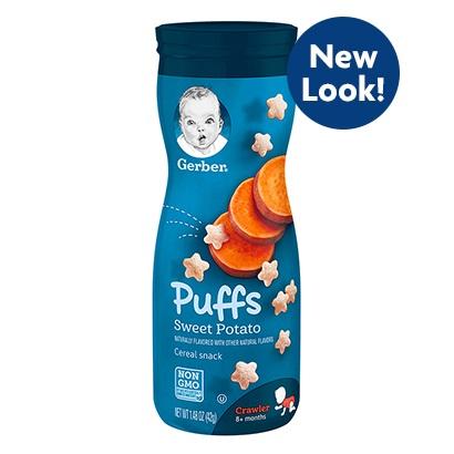 Gerber® Puffs Sweet Potato