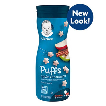 Gerber® Puffs Apple Cinnamon