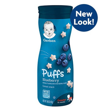Gerber® Puffs Blueberry