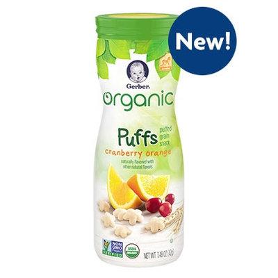 Gerber® Organic Puffs Cranberry Orange