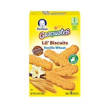 Gerber® Graduates® Lil' Biscuits Vanilla Wheat