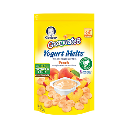 Gerber® Graduates® Yogurt Melts® Peach