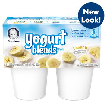 Gerber® Yogurt Blends Snack Banana