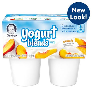 Gerber® Yogurt Blends Snack Peach