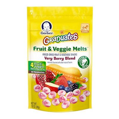 Gerber® Graduates® Fruit & Veggie Melts™ Snack Very Berry Blend