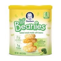 Gerber® Lil' Beanies™ White Cheddar & Broccoli