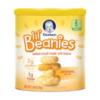 Gerber® Lil' Beanies™ Original Baked Snack Made with Beans