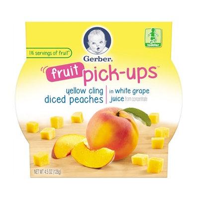 Gerber® Fruit Pick-ups™ Diced Peaches In White Grape Juice