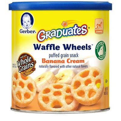 Gerber® Graduates® Waffle Wheels™ Banana Cream