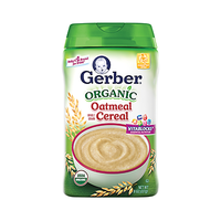 Gerber® Organic Single-grain Cereal Oatmeal