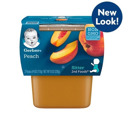 Gerber® 2nd Foods® Peach