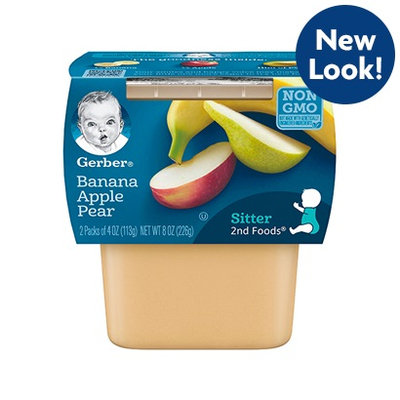 Gerber® 2nd Foods® Banana Apple Pear