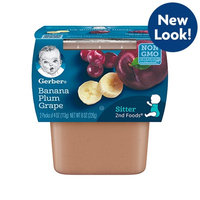Gerber® 2nd Foods® Banana Plum Grape