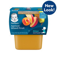 Gerber® 2nd Foods® Apricot Mixed Fruit