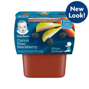 Gerber® 2nd Foods® Carrot Pear Blackberry