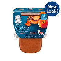 Gerber® 3rd Foods® Lil' Bits® Sweet Potato Apple Carrot and Cinnamon