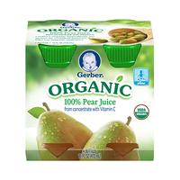 Gerber® Organic 100% Juice Pear