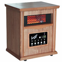 Comfort Zone CZ2020O Wood Cabinet Heater With Remote Control, 1 ea