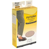 Futuro Therapeutic Support Open Toe/Heel Knee High, Nude/Extra Large/Firm