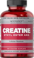 Myology Creatine Ethyl Ester AKG-120 Caplets