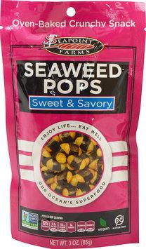 Seapoint Farms Sweet & Savory Seaweed Pops-3 oz Bag