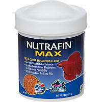 RC Hagen A6780 Nutrafin Max Betta Color Flakes .85 oz
