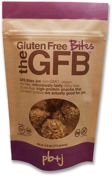 GFB(TM) The Gluten Free Bites, Peanut Butter and Jelly, 4 Oz, Pack Of 12