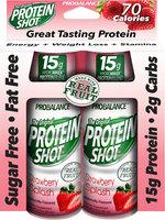 Protein 15 Energy Strawberry Splash Shots - 12 Packs-24 Each