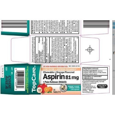Topcare top care aspirin