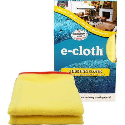 E-Cloth 10607 2 Dusting Cloths - Pack of 2