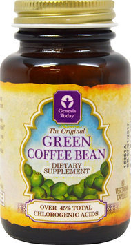 Pure Green Coffee Bean Genesis Today Inc 60 VCaps