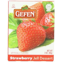 Gefen Jello Strawberry, 3-Ounce (Pack of 24)