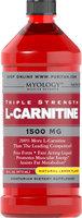 Myology L-Carnitine 1500 mg Lemon-16 oz Liquid