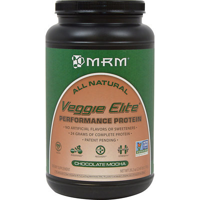 Mrm Metabolic Response Modifiers MRM Veggie Elite Performance Protein - Chocolate Mocha
