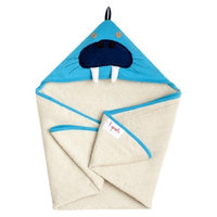 3 Sprouts Walrus Hooded Towel - Newborn/Infant